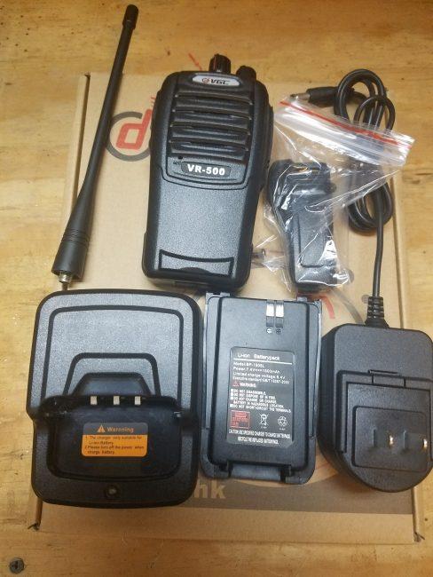 BK Radio VGC VR-500 Handheld