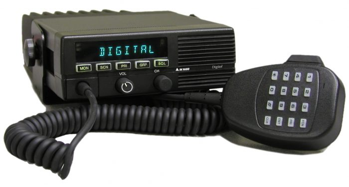 DMH5992X VHF 50 Watt P-25 Digital Mobile Bendix King
