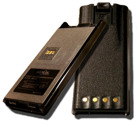 KAA0100 Li Ion Battery Pack BK Radio