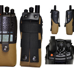 KAA0450T Tan Nylon Case KNG BK Radio