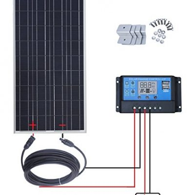 VATOUM Cable, Adaptor, Solar to military RDRP