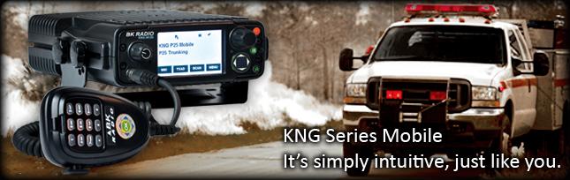 KNG M500 BK Radios Mobile