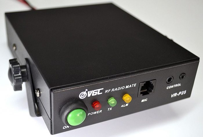 VR-P25 BK Radios