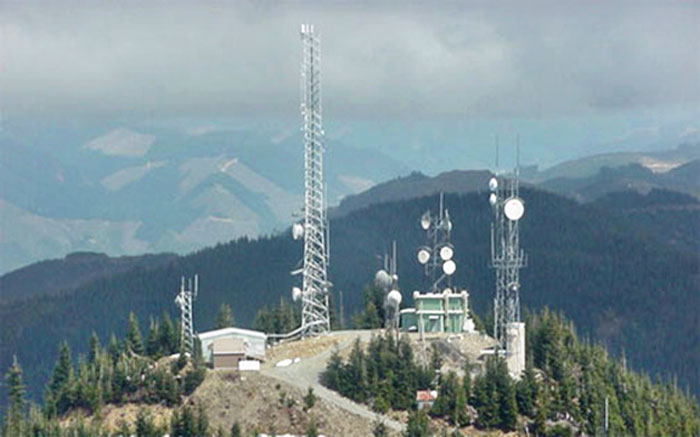 King Radios Mountain top Antennas