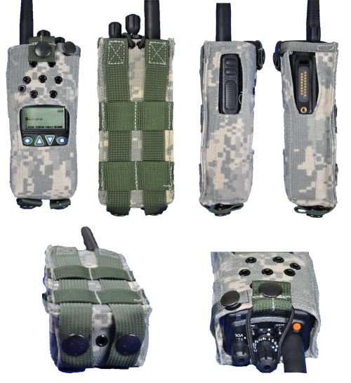 KAA0455 Nylon Case Camo King Radios